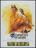 "Movie Posters:War, Lawrence of Arabia (Columbia, R-1971). French Grande (47"" X 63"").War.. ..."