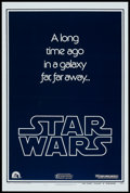 """Movie Posters:Science Fiction, Star Wars (20th Century Fox, 1977). One Sheet (27"""" X 41"""") AdvanceStyle B. Science Fiction.. ..."""