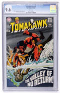 Silver Age (1956-1969):Adventure, Tomahawk #124 Slobodian pedigree (DC, 1969) CGC NM+ 9.6 White pages....