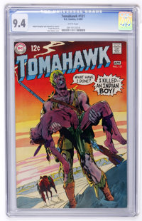 Tomahawk #121 Slobodian pedigree (DC, 1969) CGC NM 9.4 White pages