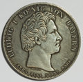 German States:Bavaria, German States: Bavaria. Ludwig I Taler 1833,...