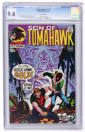 Bronze Age (1970-1979):Western, Tomahawk #135 Slobodian pedigree (DC, 1971) CGC NM 9.4 White pages....