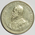 German States:Bavaria, German States: Bavaria. Luitpold Silver Medal 1891,...