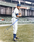 Autographs:Photos, Billy Williams Signed Photograph....