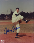 Autographs:Photos, Johnny Podres Signed Photograph....