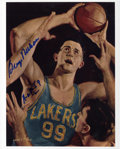 Basketball Collectibles:Others, George Mikan Signed Photograph....