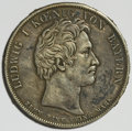 German States:Bavaria, German States: Bavaria. Ludwig I Taler 1827,...