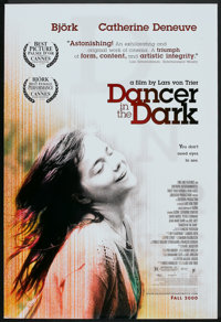 """Dancer in the Dark (Fine Line Features, 2000). One Sheets (2) (27"""" X 40"""") SS and DS Advance. Drama. ... (Total..."""