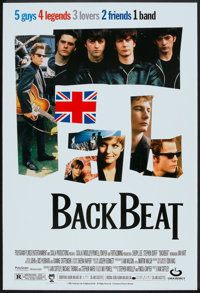"Backbeat (Gramercy, 1994). One Sheet (27"" X 40"") DS. Rock and Roll"