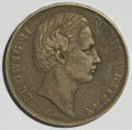 German States:Bavaria, German States: Bavaria. Ludwig II Taler 1866,...