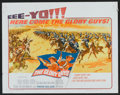 """Movie Posters:Western, The Glory Guys Lot (United Artists, 1965). Half Sheets (2) (22"""" X 28""""). Western.. ... (Total: 2 Items)"""