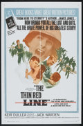 "Movie Posters:War, The Thin Red Line (Allied Artists, 1964). One Sheet (27"" X 41"").War.. ..."