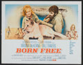 "Movie Posters:Adventure, Born Free Lot (Columbia, 1966). Half Sheets (2) (22"" X 28"").Adventure.. ... (Total: 2 Items)"