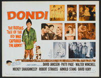 """Dondi Lot (Allied Artists, 1961). Half Sheets (2) (22"""" X 28""""). Comedy. ... (Total: 2 Items)"""