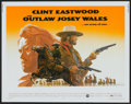 """Movie Posters:Western, The Outlaw Josey Wales (Warner Brothers, 1976). Half Sheet (22"""" X 28""""). Western.. ..."""