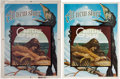 Music Memorabilia:Posters, Grateful Dead Wake of the Flood Promo Poster and Color Key(Arista, 1973).... (Total: 2 Items)