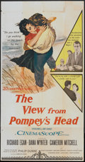 """Movie Posters:Drama, The View From Pompey's Head (20th Century Fox, 1955). Three Sheet (41"""" X 81""""). Drama.. ..."""
