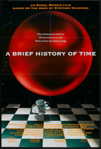 "A Brief History of Time (Triton, 1991). One Sheet (27"" X 40""). Documentary"