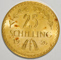 Austria, Austria: Republic gold 25 Schillings - Trio,... (Total: 3 coins)