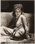 Movie/TV Memorabilia:Autographs and Signed Items, Ann Sheridan Signed Photo by George Hurrell....