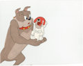 Animation Art:Production Cel, Tom, Spike and Tyke Animation Production Cel Original Art Group of2 (MGM, undated).... (Total: 2 Items)