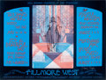 Music Memorabilia:Posters, Fleetwood Mac/Ten Years After Fillmore West Concert Poster BG245,Signed by the Artist (Bill Graham, 1970)....