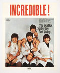 "Music Memorabilia:Posters, The Beatles ""Butcher Cover"" Promotional Poster (Capitol, 1966). ...."
