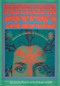 Music Memorabilia:Posters, The Doors Break On Through Avalon Concert Poster FD50(Family Dog, 1967)....