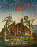 Music Memorabilia:Posters, Grateful Dead Radio City Music Hall Concert Poster (Grateful DeadProductions, 1980)....