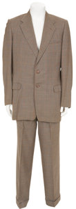 Movie/TV Memorabilia:Costumes, Ernie Kovacs' Screen-Worn Suit.... (Total: 3 Items)