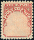 Stamps, 1959, 1c Carmine Rose, Denomination Omitted (J89a),...