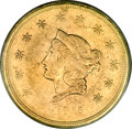 Territorial Gold, 1855 $50 Wass Molitor Fifty Dollar XF40 PCGS....
