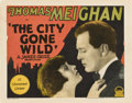 """Movie Posters:Crime, The City Gone Wild (Paramount, 1927). Title Lobby Card and LobbyCard (11"""" X 14""""). Crime.. ... (Total: 2 Items)"""