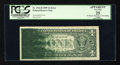 Error Notes:Ink Smears, Fr. 1924-B $1 1999 Federal Reserve Note. PCGS Apparent Very Fine25.. ...