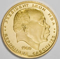 Gabon, Gabon: Republic gold 10 & 25 Francs 1960,... (Total: 2 coins)