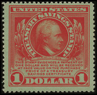 $1 Treasury Savings Stamp (TS1)