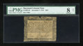 Colonial Notes:Maryland, Maryland December 7, 1775 $2/3 PMG Very Good 8 Net....