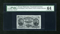 Fractional Currency:Third Issue, Fr. 1272SP 15c Third Issue Narrow Margin Face PMG Choice Uncirculated 64....
