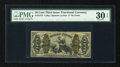 Fractional Currency:Third Issue, Fr. 1373 50c Third Issue Justice PMG Very Fine 30 EPQ....