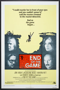 "End of the Game (20th Century Fox, 1976). One Sheet (27"" X 41"") and Lobby Card Set of 8 (11"" X 14"")..."