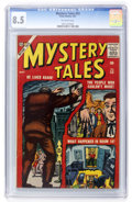 Silver Age (1956-1969):Horror, Mystery Tales #53 (Atlas, 1957) CGC VF+ 8.5 Off-white pages....