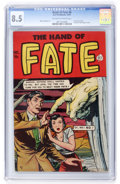 Golden Age (1938-1955):Horror, The Hand of Fate #8 (Ace, 1951) CGC VF+ 8.5 Off-white to whitepages....
