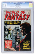 Silver Age (1956-1969):Horror, World of Fantasy #13 (Atlas, 1958) CGC VF- 7.5 Off-white to whitepages....