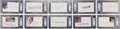 Autographs:Index Cards, Baseball Signed Index Card Collection (27) PSA/DNA Certified Authentic....
