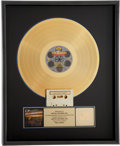 Music Memorabilia:Awards, The Beatles Reel Music RIAA Gold Album Award....