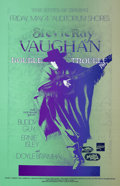 Music Memorabilia:Posters, Stevie Ray Vaughan/Buddy Guy Auditorium Shores Austin (1990)....