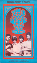 Music Memorabilia:Posters, The Who CNE Coliseum Concert Poster (Russ Gibb, 1968)....