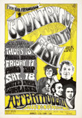 Music Memorabilia:Posters, Country Joe and the Fish Afterthought Concert Poster (1967).. ...