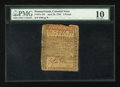 Colonial Notes:Pennsylvania, Pennsylvania April 25, 1759 £5 PMG Very Good 10....