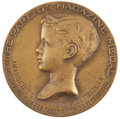 Movie/TV Memorabilia:Awards, The Vanishing Virginian Award Medal from ParentsMagazine....